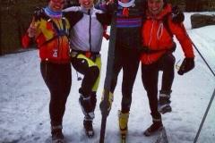 Esqui de Fondo con mis chicos
