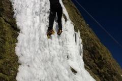 Escalada en hielo. Cascada Zabala
